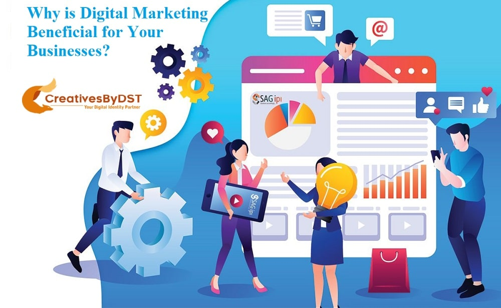 Why is Digital Marketing Beneficial for Your Businesses?